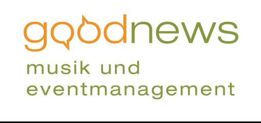 Goodnews Musik- & Eventmanagement